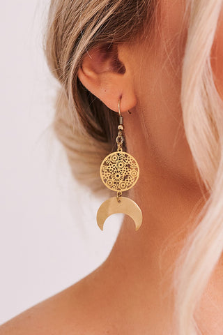 Jaye Over The Moon Earrings