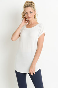 Jayla Everyday Essential Tee - White
