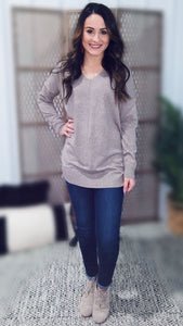 Karsyn Favorite Sweater - Mocha