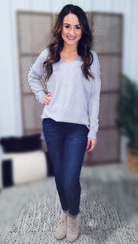 Karsyn Favorite Sweater - Grey