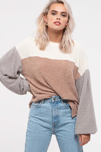 Kesly Colorblock Sweater