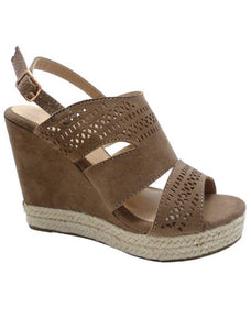 Kinze Taupe Wedges
