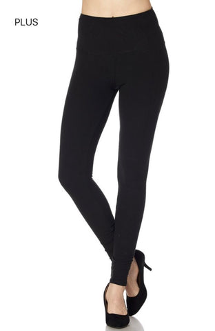 PLUS Lady Soft Leggings - 4 Color Options