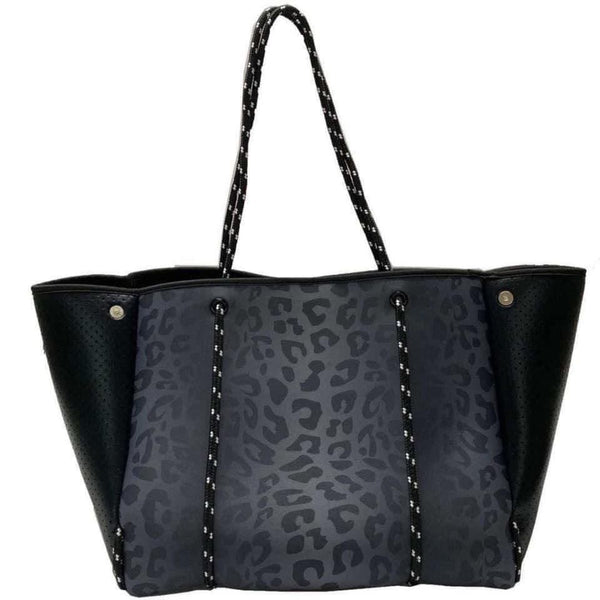 Laney Everywhere You Go Tote - Luxe Black Leopard