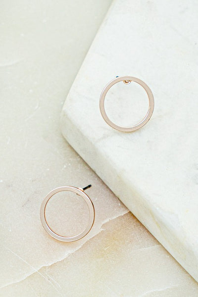 Lindsey Hoop Earrings