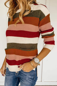 Colored & Cozy  Striped Sweater