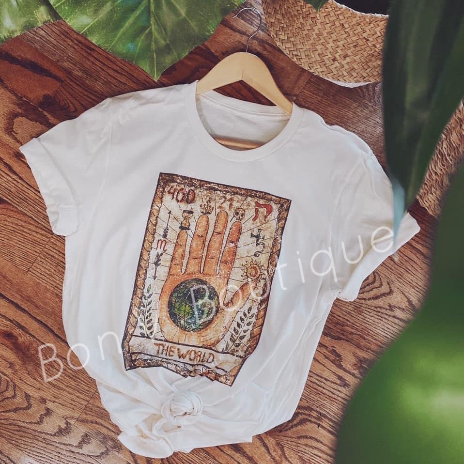 World Tarot Card Tee