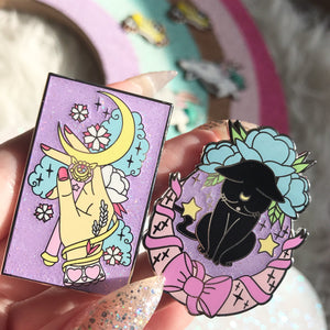 Sad Luna Pin