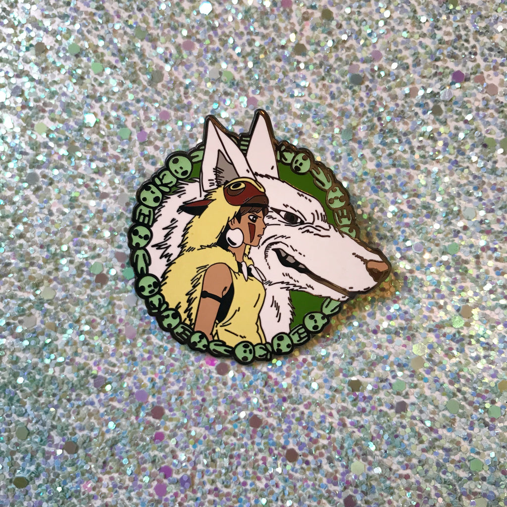 Protect the Forest - Princess Mononoke Pin