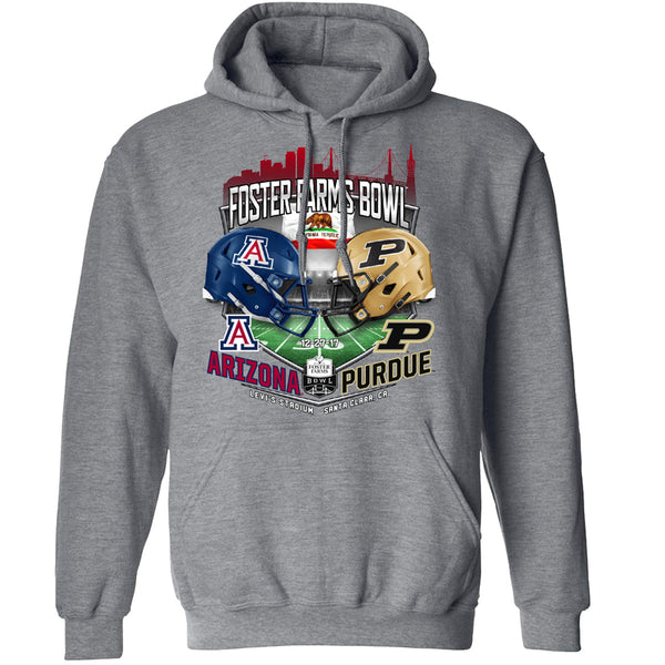 2017 Foster Farms Bowl Team-vs-Team Men's Hooded Sweat