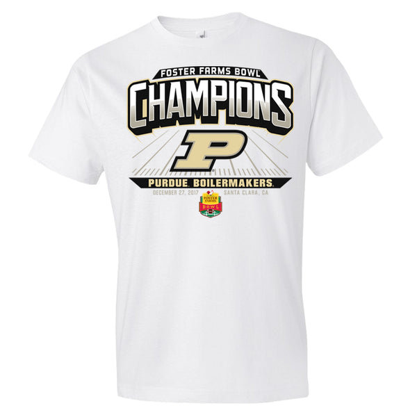 2017 Foster Farms Bowl Champions Short Sleeve Cotton Tee
