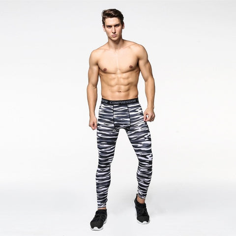 Men's BENGAL Running Compression Tights