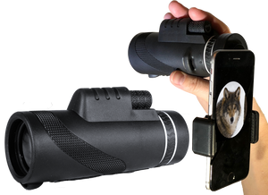 10x42 Monocular with mini tripod, 10x magnification and 42mm lens