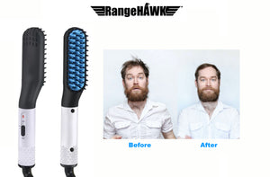 Heated Beard Comb - Hair Straightener For Men