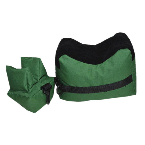 SHOOTING BAGS SET - Portable Front & Rear Bags Outdoor Gun Rest for Rifle Range