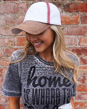 Baseball – Embroidered Baseball Cap Hat – Camel - Live Love Gameday®