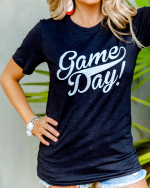 Throwback Game Day Basic Unisex Tee