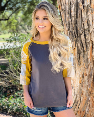 Color Stripe Mix & Match Oversized Jersey Tee - Live Love Gameday®