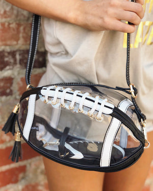 Clear Game Day Bag – Football (Stadium-Approved) - Live Love Gameday®