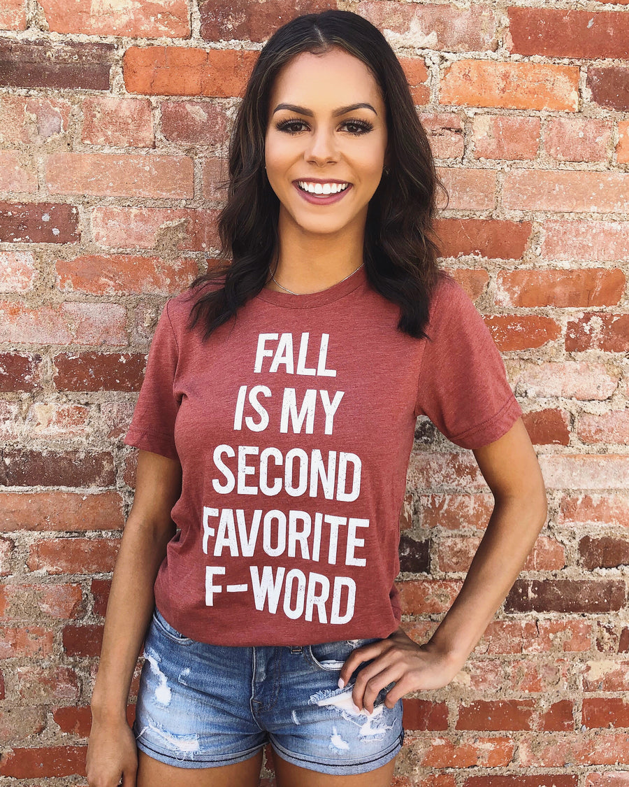 Sale – Fall Is My Second Favorite F-Word