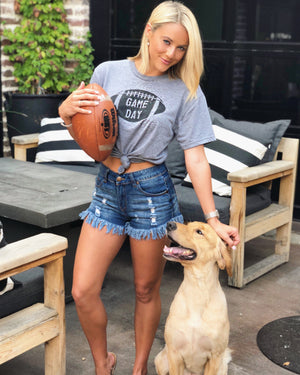 Football – GAME DAY – Unisex Tee - Live Love Gameday®