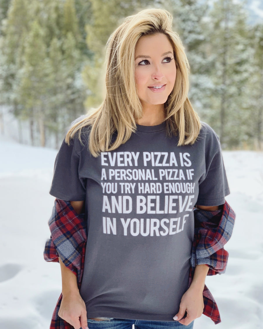 Every Pizza Is A Personal Pizza Tee - Live Love Gameday®