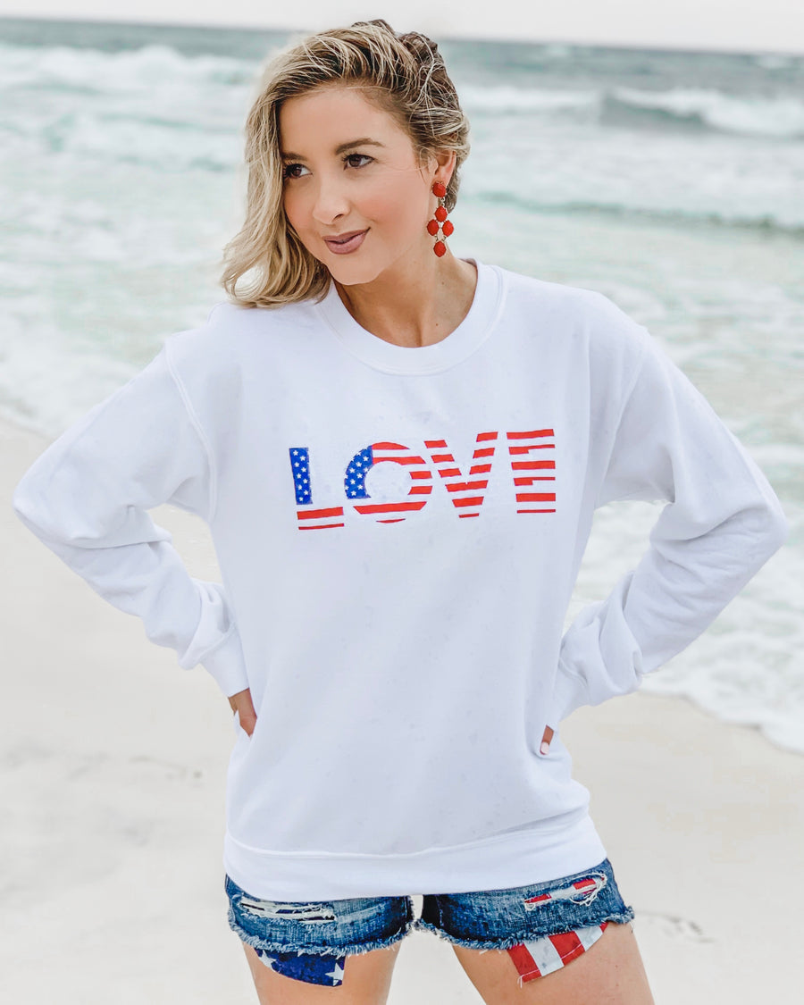 Love America Beach Fleece