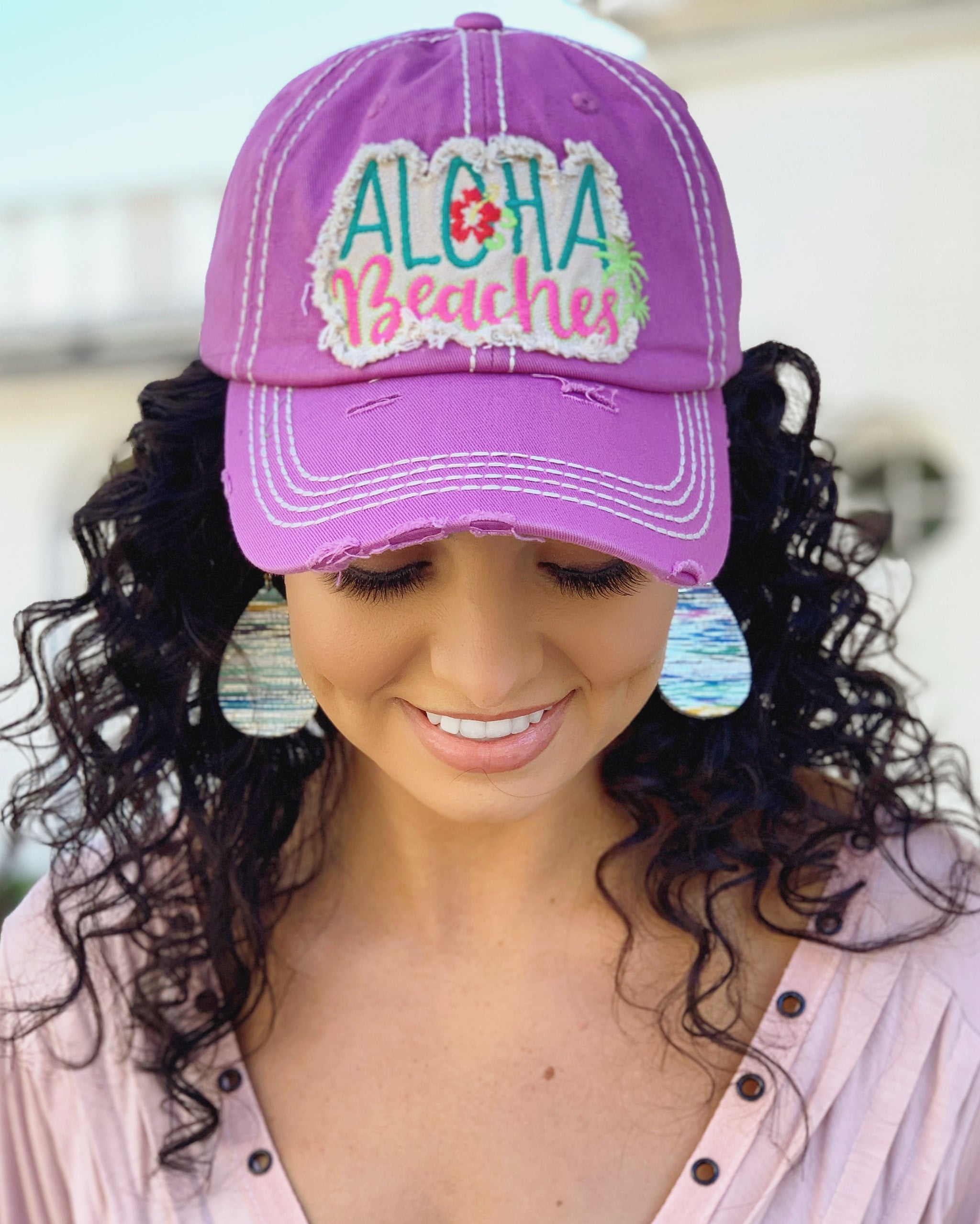 15d5af8ee4c Aloha Beaches Patch Cap - Live Love Gameday®