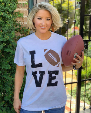 LOVE Football Basic Tee