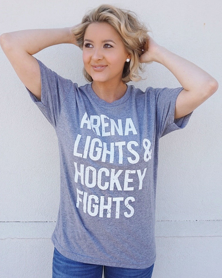 Arena Lights & Hockey Fights™ Unisex Tee