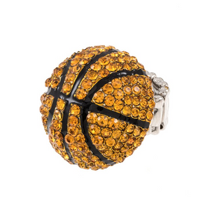 Basketball Stretchy Ring - Live Love Gameday®