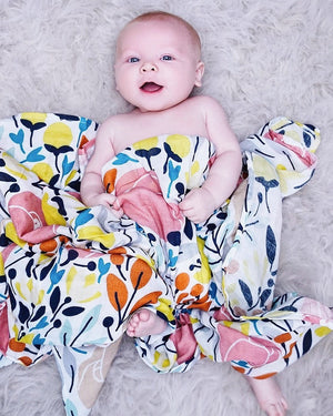 Spring Blossom Swaddle