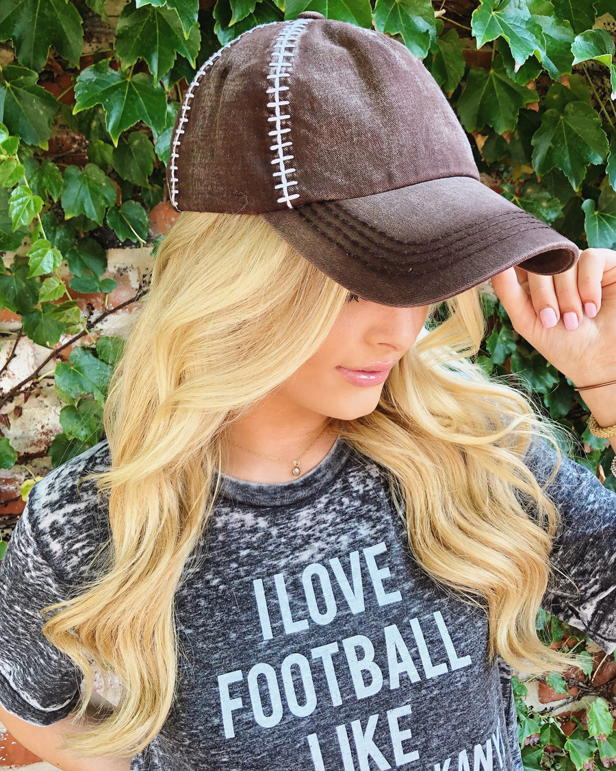 Football Cap – Plain - Live Love Gameday®