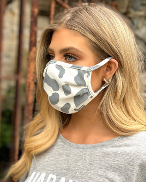 Vintage Leopard Double-Layer Daily Face Mask