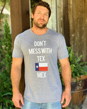 Country Tees For A Cause – Don't Mess With Tex Mex – Unisex Tee - Live Love Gameday®