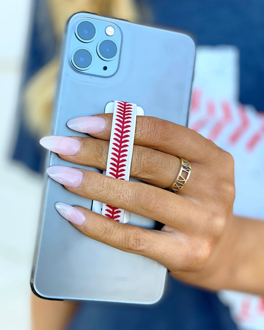 "Baseball ""Love"" Phone Grip"