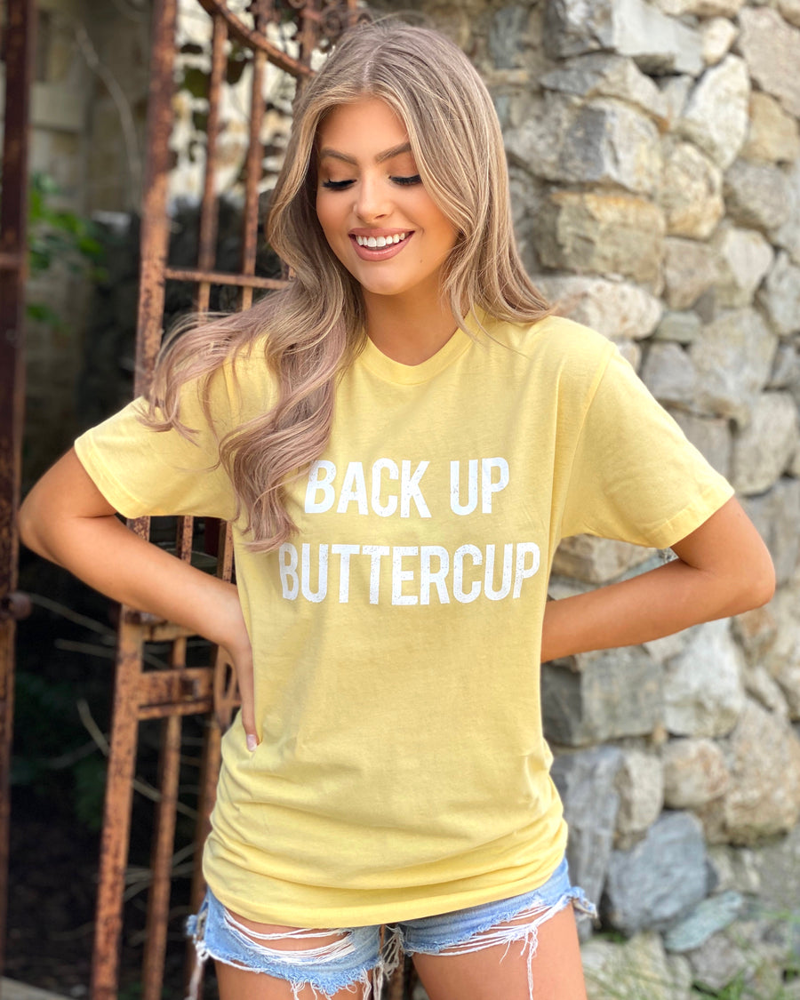Back Up Buttercup