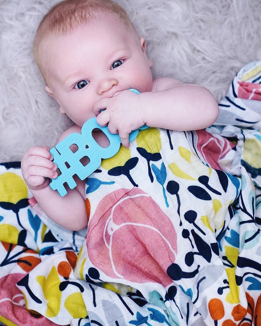 #Boss Teether (Blue or Pink) - Live Love Gameday®