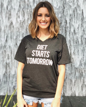 Diet Starts Tomorrow – Unisex Tee