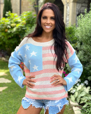 Baby Blues Stars & Stripes Knit