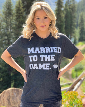Football – Married To The Game – Basic Tee
