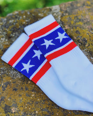 T-Shirt For Your Feet Stars & Stripes Socks