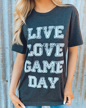 Live Love Gameday Basic Vintage Tee