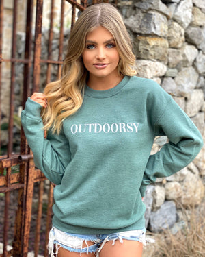 Outdoorsy Comfy Sweatshirt