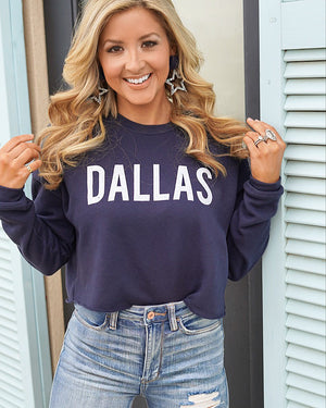 Dallas Cropped Street Fleece