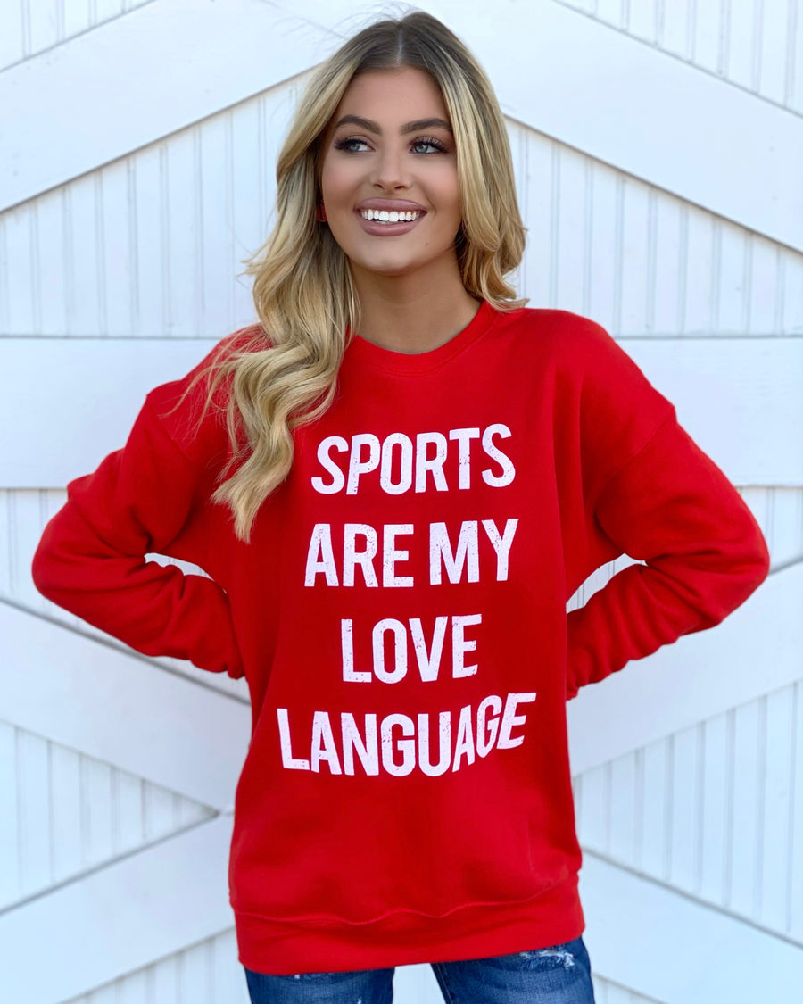Sports Are My Love Language