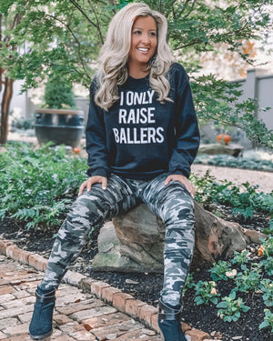 I Only Raise Ballers Comfy Sweatshirt