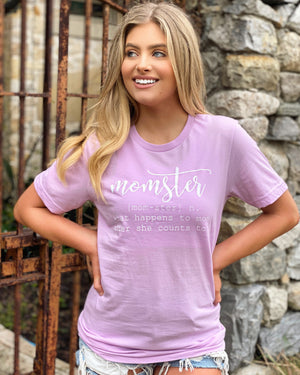 Momster Lilac Tee