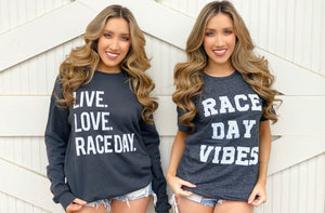 Race Day Vibes Comfy Tee