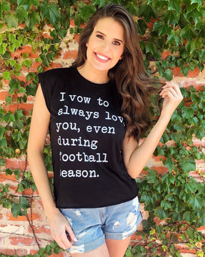 Football – I Vow To Always Love You, Even During Football Season™